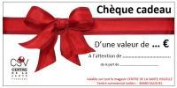 Bientôt Noël: pensez aux chèques cadeaux !