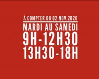 Horaires COVID-19
